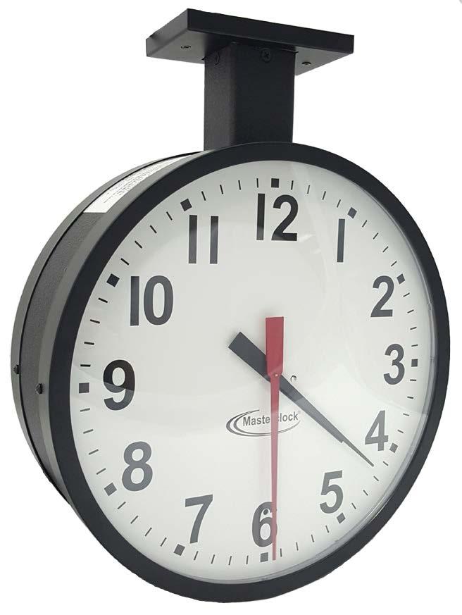 Analoge zweiseitige NTP Uhr 31,8 cm