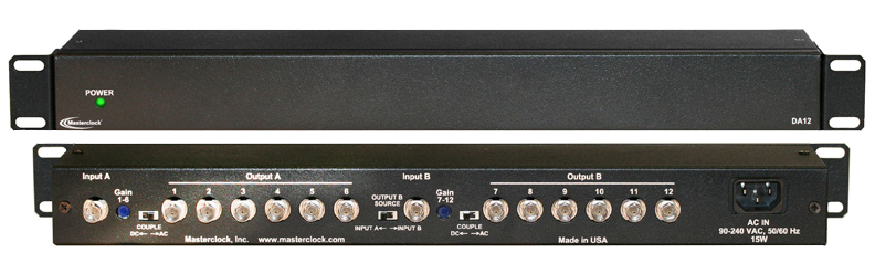 DA12 2-Kanal Distribution Amplifier