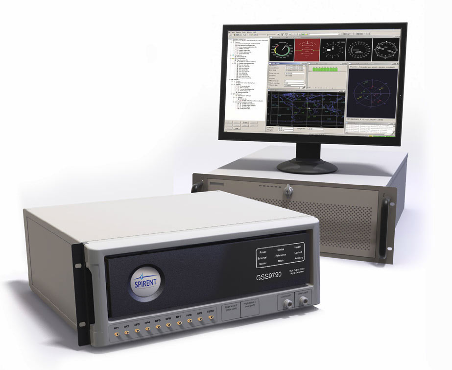 GSS9790 - Multi-Output, Multi-GNSS RF Constellation Wave-Front, Simulator System