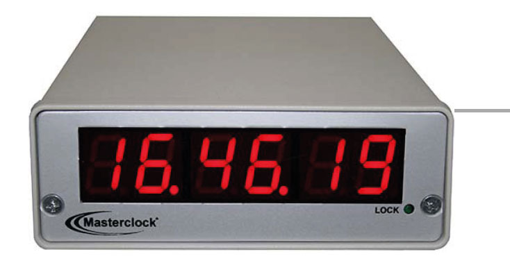 NTD200 6-digit NTP Network Clock with 0.6-inch LEDs