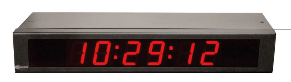 NTDS16 6-stell. digitale NTP Zeitanzeige