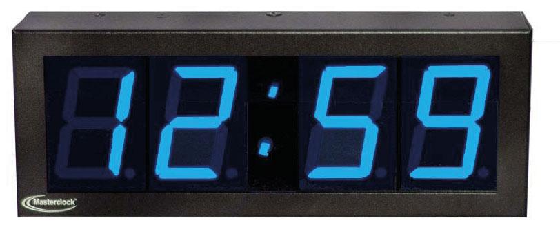 NTDS24 4-stell. LED Zeitanzeige, NTP synchronisiert
