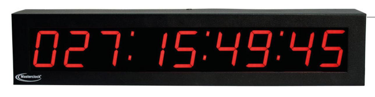 NTDS29 9-stell. LED Zeitanzeige, NTP synchronisiert