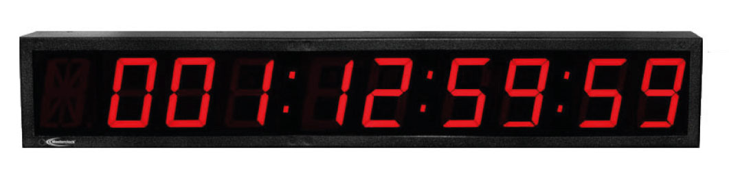 NTDS49 9-stell. LED Zeitdisplay, NTP synchronisiert