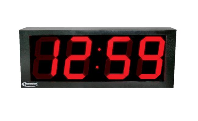 NTDS84 4-stell. LED Zeitdisplay, NTP synchronisiert