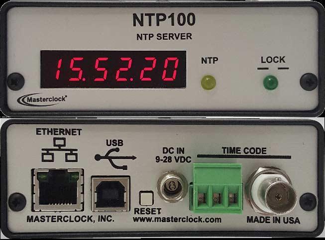 NTP100-TC Zeitserver
