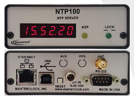 NTP100-GPS Zeitserver