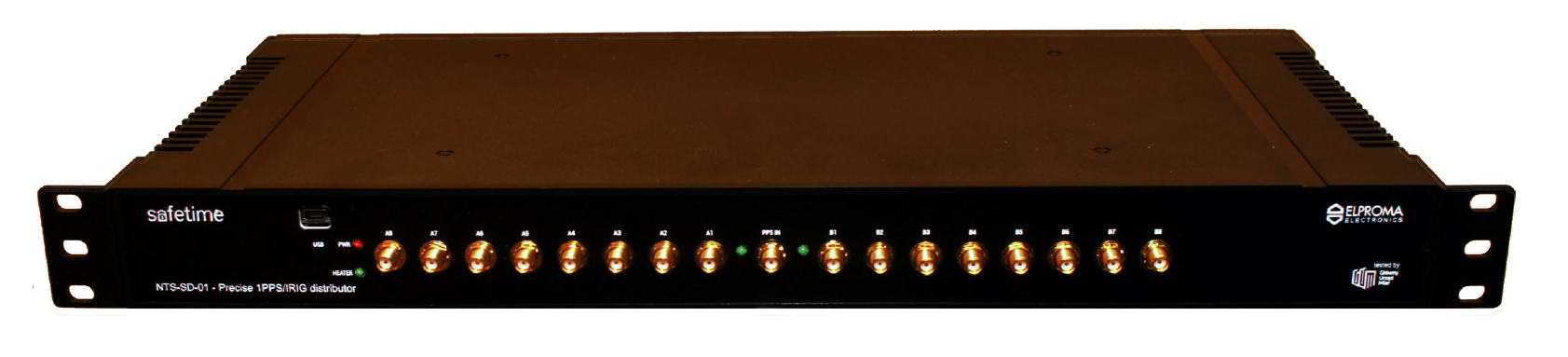 NTS-SD-01 Präzisions-1PPS / IRIG-DCLS-Distributor