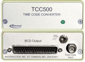TCC500 Time Code Converter