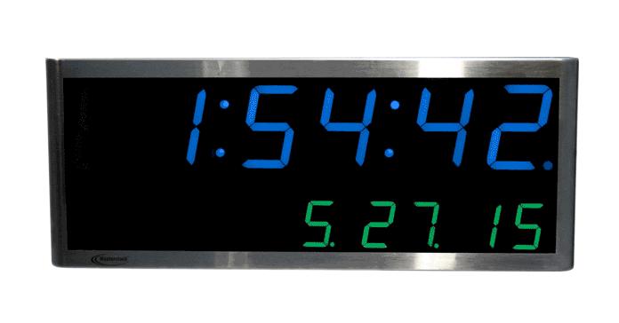 NTDS4626 2-zeiliges LED Zeitdisplay, NTP synchronisiert